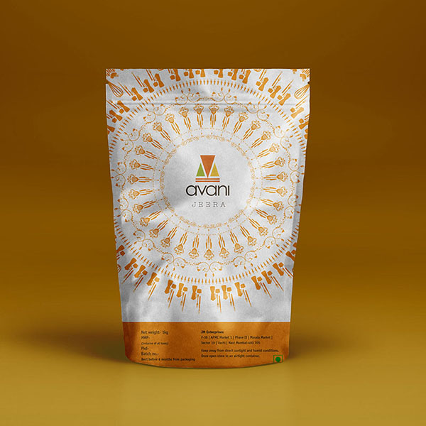 Avani Branding: A Contemporary Look for Indian Spices