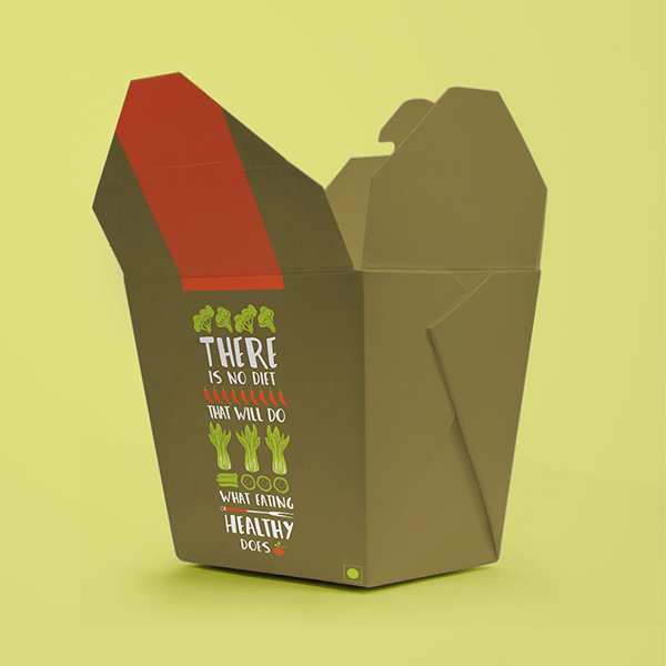 Packaging for Wok This Way Restaurant