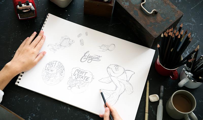 art and illustration drawing web design