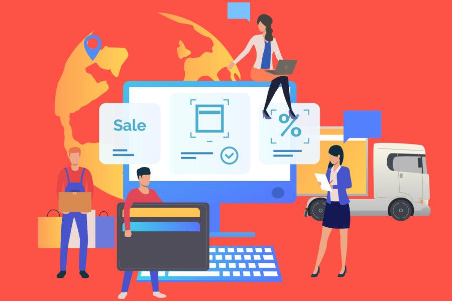 Custom marketing website